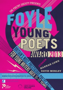 The Foyle Young Poets of the Year Award 2013