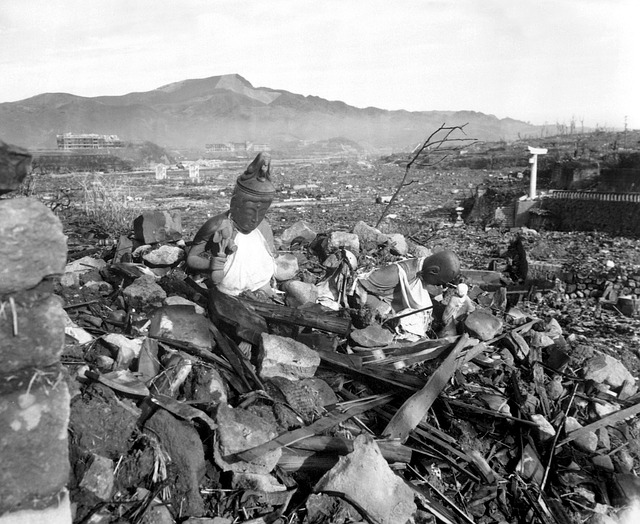 Atomic Bombing of Hiroshima and Nagasaki, Japan, 1945.