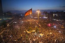 Taksim Square, 15 June 2015. Source: Wikipedia.