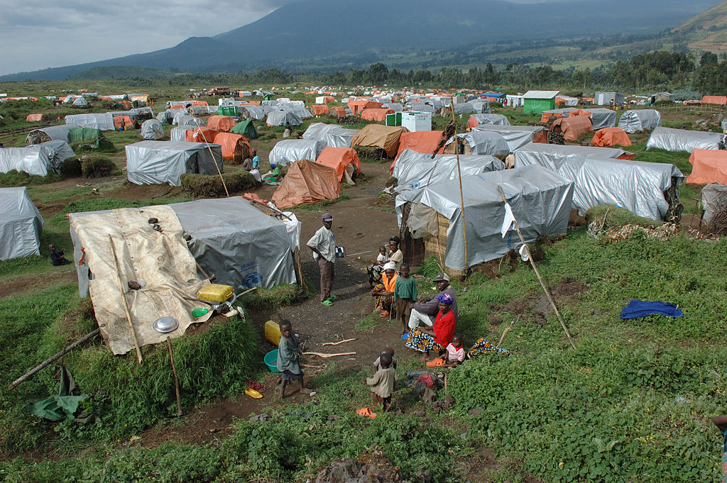 Refugees in Congo. Source: Wikipedia